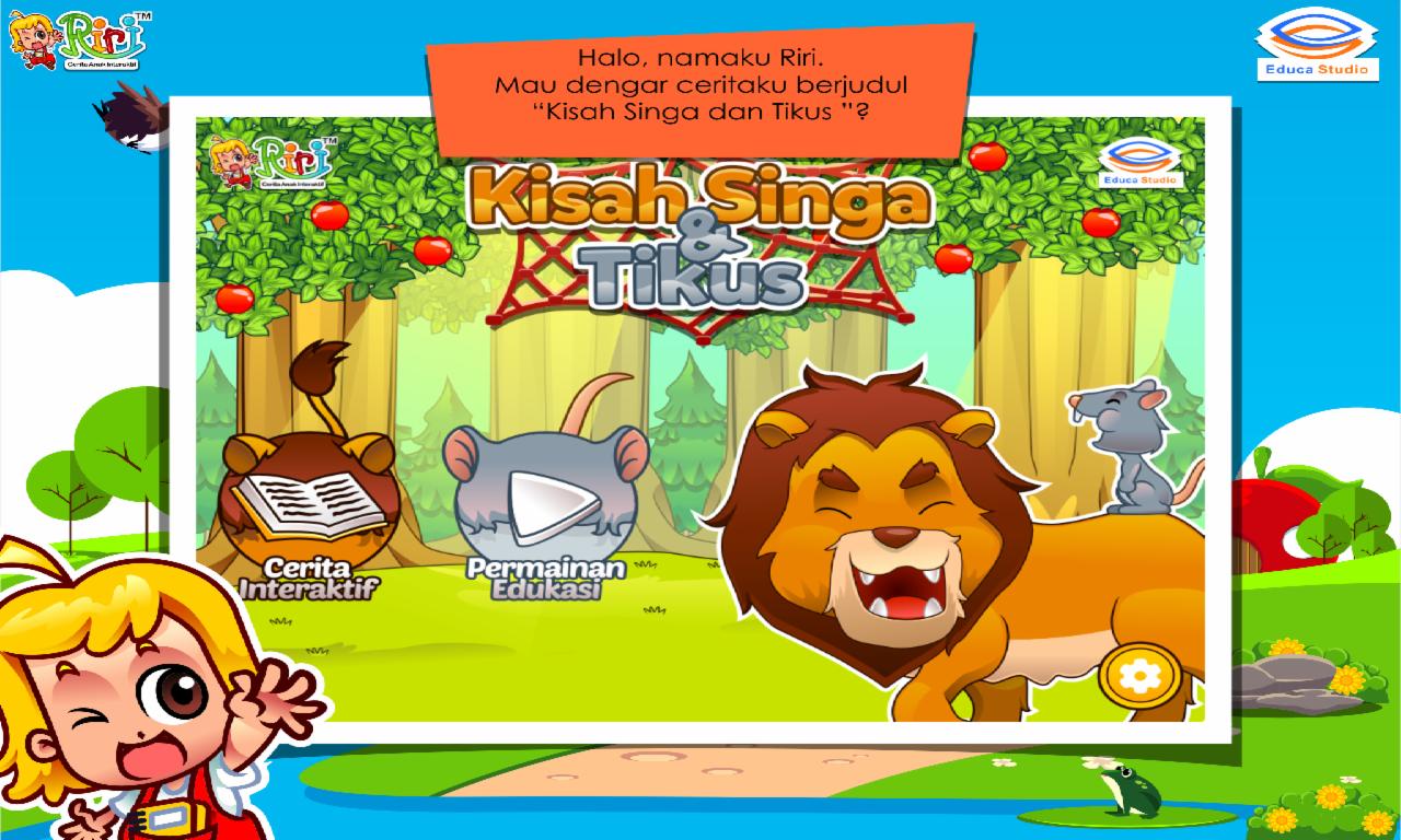 Cerita Anak Singa Dan Tikus Apl Android Di Google Play