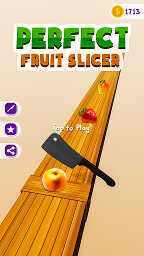 Code Triche Perfect Fruit Slicer - Chop slice APK MOD screenshots 5