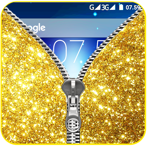 模擬App|Glitter Zipper LockScreen LOGO-3C達人阿輝的APP