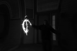 Photo: Sparklers for Christmas