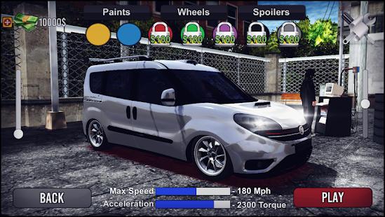Doblo Drift & Driving Simulator Mod