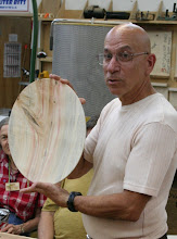 Photo: Mike Collela describes that he had a neighbor take down a box elder with some nice flame.  Here is a platter and ...