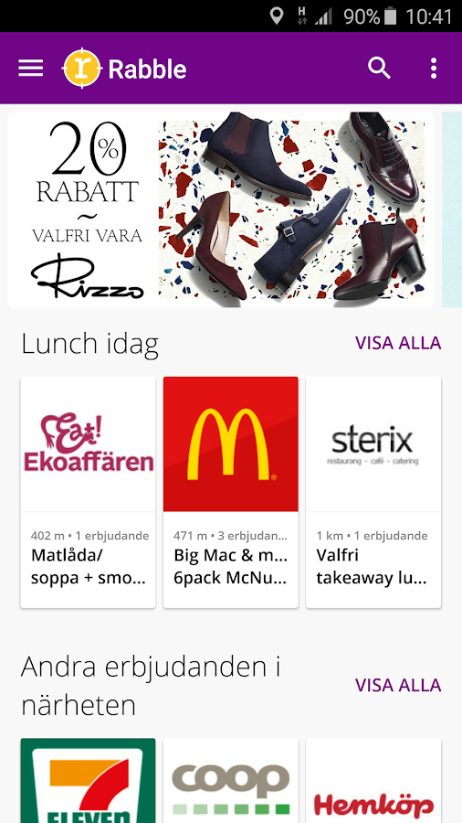 Rabble - Offers & Mobile Deals- screenshot