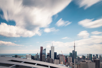 Photo: Slow Motion City The City. A rooftop. In Slow Motion. Taken on a day shooting with Sir Dr.+Ronnie YipPhD Esq.  #toronto  #rooftopping  #urbanexploration #urbex #ndfilter #longexposure #skyline
