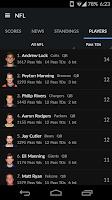 Screenshot of Yahoo Sports