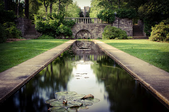Photo: Manor  Who thought New Jersey could look so nice? Actually, the state has some really beautiful spots once you get out out of the Jersey City/Newark area. This spot is at a Botanical Gardens in North Jersey. I used a 10 stop filter to get some nice texture in the water (despite it being bright daylight all around).