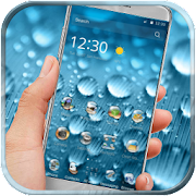 App Rainy Water Drops Theme APK for Windows Phone