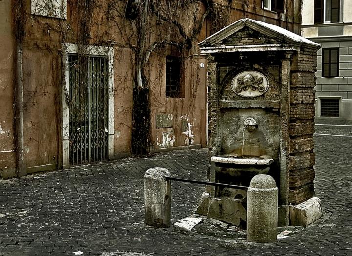 Nell'antico borgo di miyomo