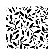 Wendy Vecchi Background Stamp - Vines With Berries