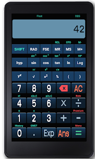 Speaking Scientific Calculator- screenshot thumbnail