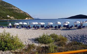 Photo: Het strand van Mikros Giallos
