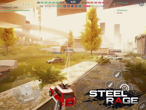 Steel Rage: Mech Cars PvP War, Twisted Battle 2020 screenshots 18
