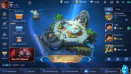 Mobile Legends Mod Apk  1.5.52 [Hack Map + Fully Unlocked] 8