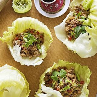 Pork Lettuce Cups - San choy bau.