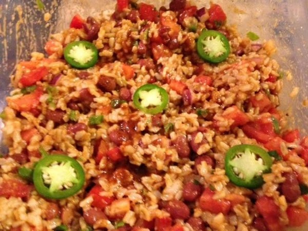 Tex-mex Rice And Red Bean Salad Recipe