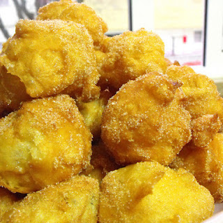 Fried Dream Cakes - Thermomix recipe.