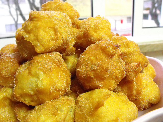 Fried Dream Cakes - Thermomix Recipe