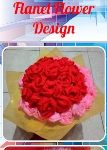 Flanel Flower Design - náhled