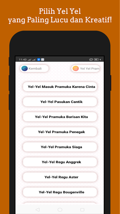 Yel Yel Pramuka Hits Dan Kekinian Android 앱 Appagg