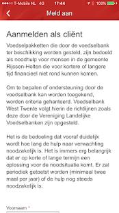 40 jaar en in verwachting Voedselbank West Twente – Programme op Google Play 40 jaar en in verwachting