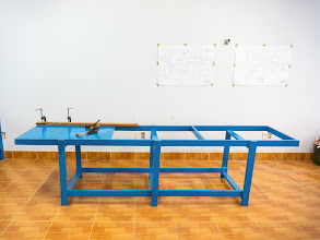 Photo: the workbench is 3m long