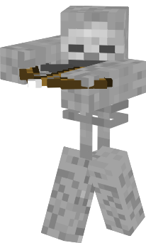 Minecraft Human Model Skeleton Nova Skin