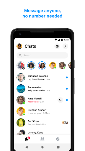 Messenger u2013 Text and Video Chat for Free 213.1.0.17.114 screenshots 1