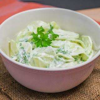 Delightful Cucumber Salad