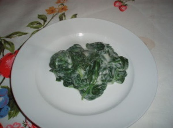 Spinach With Bechamel Recipe