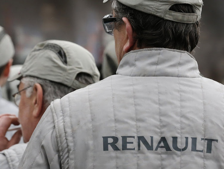 A Renault employee. Picture: REUTERS