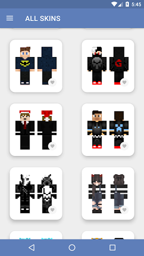 Skins for Minecraft PE (NEW SKINS) 5.0.5 screenshots 8