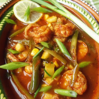 Caldo de Camarones (Shrimp and Vegetable Soup)