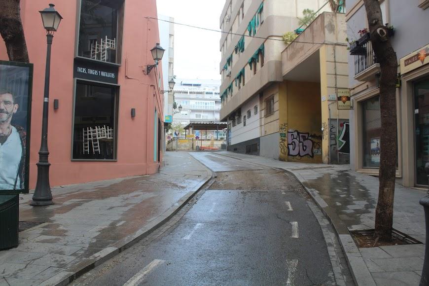 Calle Siloy y Plaza de San Pedro.