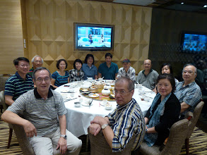 Photo: September 28  lunch at Hang Fa Chuen in Saukiwan: Nick & Anna Tsui, Abe & Lucy  Chang , Ball Chai, Ringo Yeung, Lawrence & Emily Yeung, Dick Lau, Wong Pui Chick & Ada, Nicholas Lai, Ah Mou