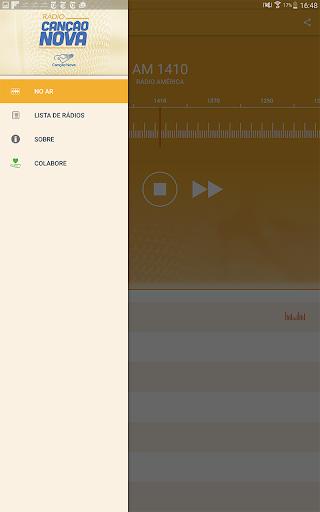 Rádio Canção Nova 3.5.1 screenshots 7