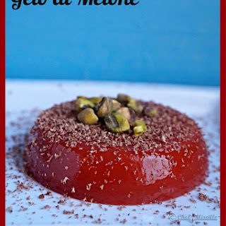 Gelo di Melone – Sicilian Watermelon Gelatin