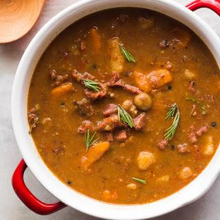 Rosemary Garlic Beef Stew