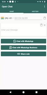 Chat Abierto para WhatsApp - Mensaje Directo