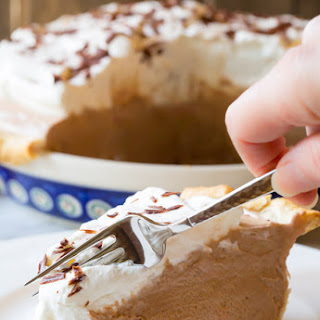 Fluffy French Silk Pie
