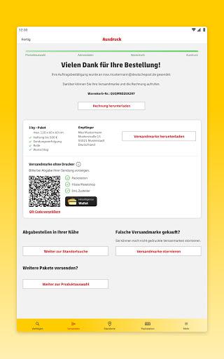 DHL Paket  screenshots 13