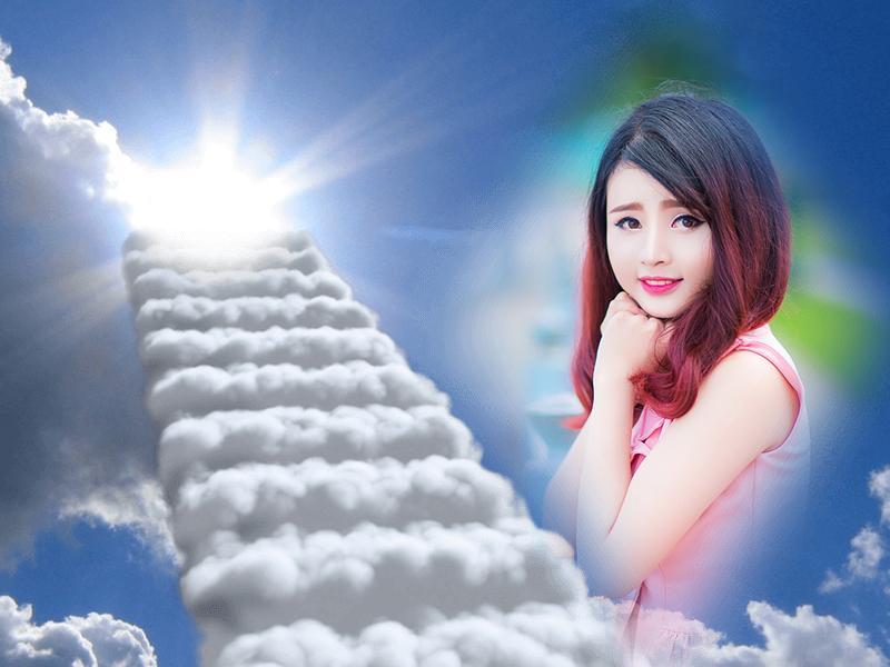 sky photo frames screenshot