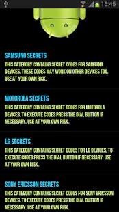 Secret Codes For Android - Apps on Google Play