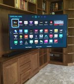 Pull Out Cable Free TV Installation