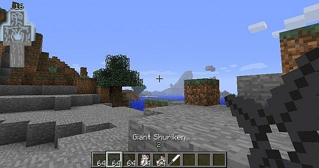 Mod Naruto for Minecraft PE- screenshot