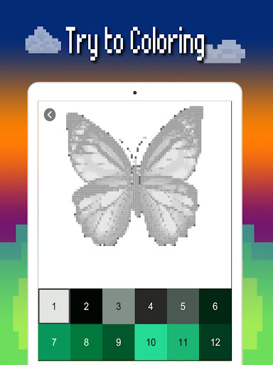 Butterfly color by number : Bugs coloring book apktram screenshots 13