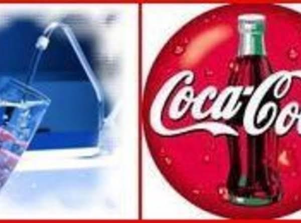 Water & Coke.. Read Recipe