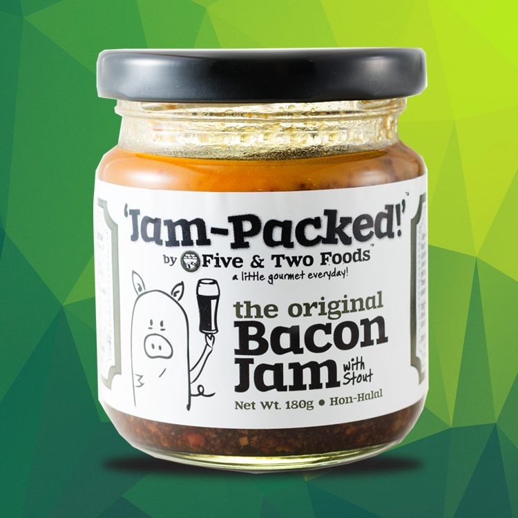 Jam-Packed's Bacon Jam with STOUT by Five & Two Fine Foods