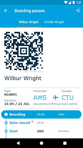 KLM - Royal Dutch Airlines  screenshots 4