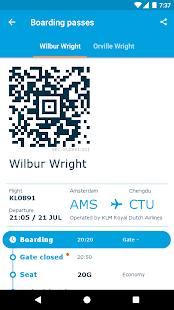 KLM - Royal Dutch Airlines - náhled
