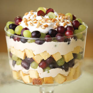 Peanut Butter and Grape Trifle.